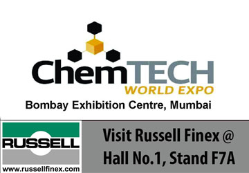 Meet Russell Finex at ChemTech World Expo 2017