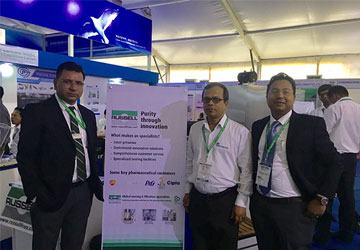 Russell Finex at Asia Pharma Expo 2017