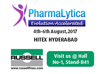 meet russell finex at pharmalytica 2017