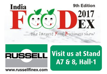 Russell Finex at India Foodex 2017