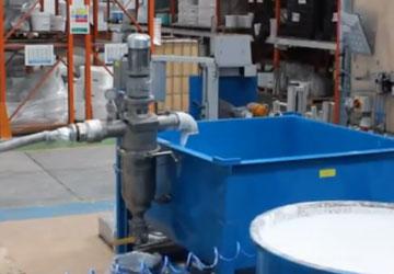 industrial liquid filter for liquid emulsion
