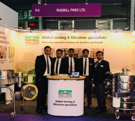 Russell Finex at P-MEC India 2017