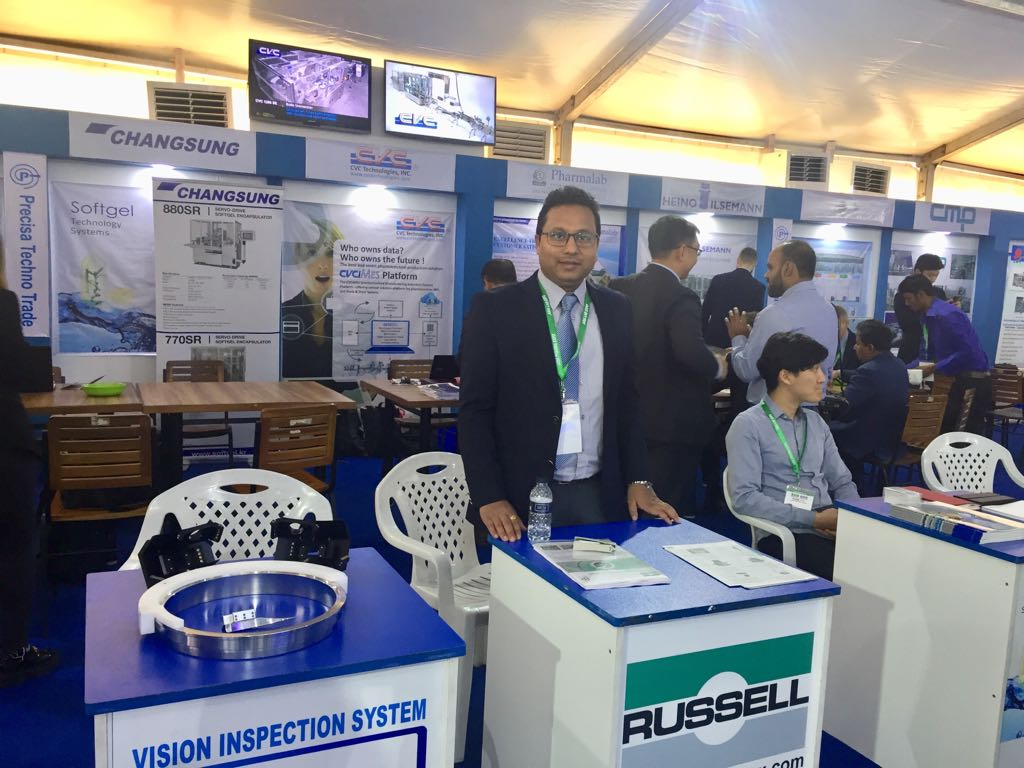 russell finex at asia pharma expo 2018