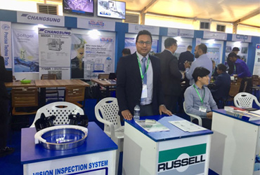 russell finex at asia pharma expo