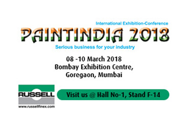 russell finex at paint india
