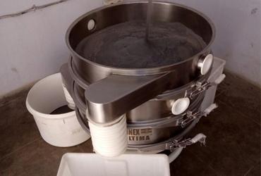 vibratory sieving machine steel powders