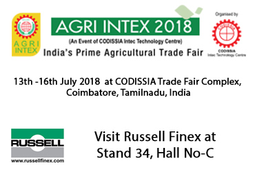 Agri Intex 2018 | Food Separation Solutions | Russell Finex