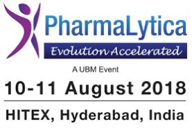 Pharmalytica- Hyderabad- 2018