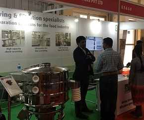 Sieving and Separation equipments at Foodex